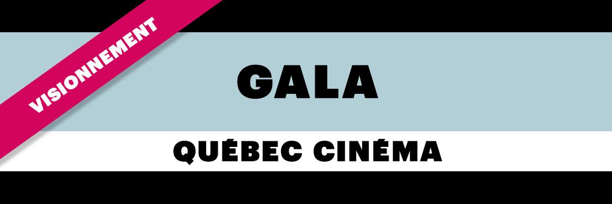 Gala Québec Cinéma 2020 - Plateforme de visionnement