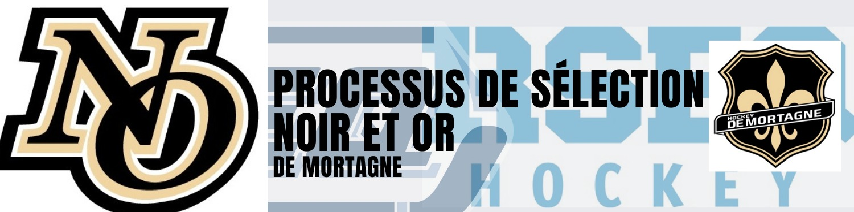 Processus de sélection des équipes du Noir et Or De Mortagne 2021