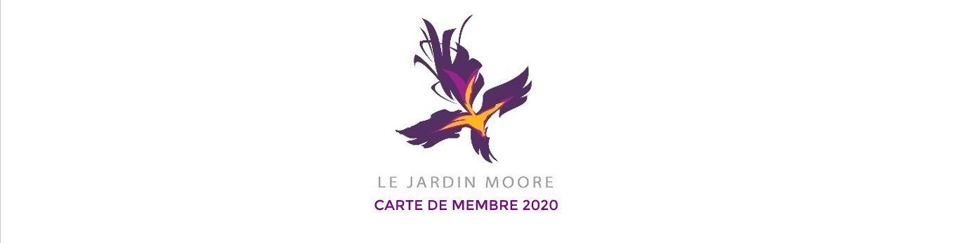 Carte de membre - 2020