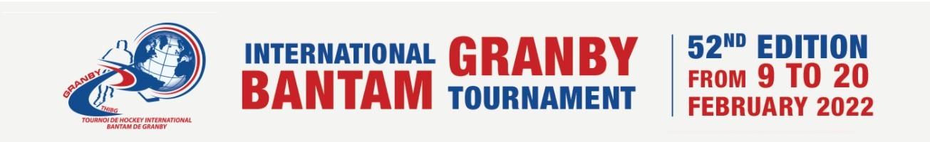 Granby International Bantam Tournament 2022 - 52nd Edition