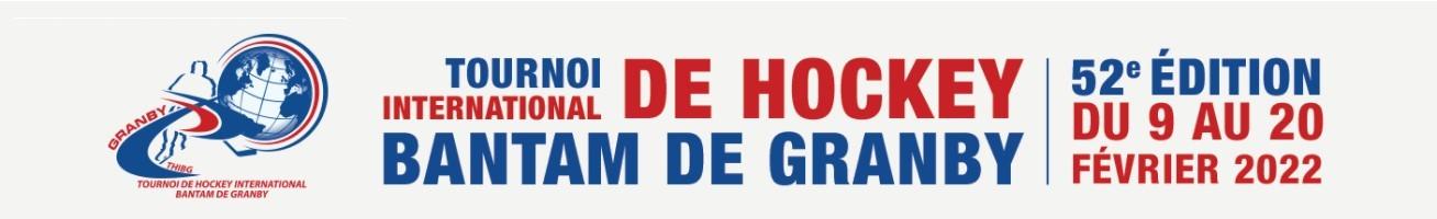 Tournoi Hockey International Bantam de Granby 2022 - 52e Édition