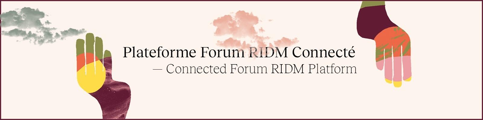 FORUM RIDM - 2020